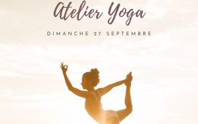 Dimanche 27/09/20 : Atelier Yoga à La Maison Rouge